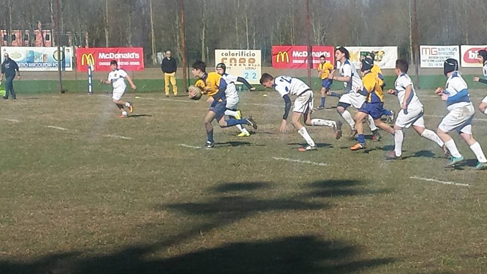 RUGBY JUNIOR FRASSINELLE VINCENTE